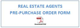 Real Estate agent Order form logo